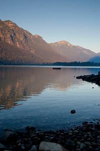 Lake Wenatchee - Summer sunrise