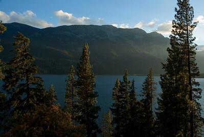 Lake Wenatchee at sunset