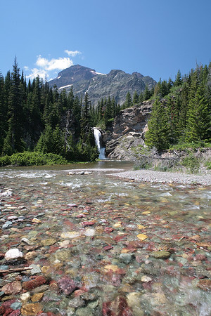 Glacier National Park - Running Eagle Falls