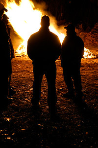 Thanksgiving Bonfire at the Krell's (11/22/2006)