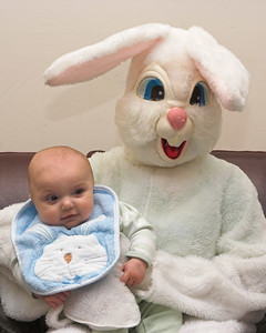 Special thanks to the Easter Bunny of Southwood who made an extra effort to spend photo time with K.C. (8x10 crop)