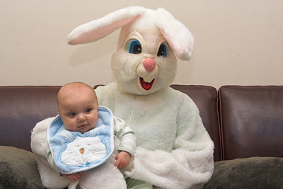 Special thanks to the Easter Bunny of Southwood who made an extra effort to spend photo time with K.C. (4x6 crop)