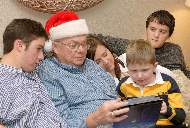 12.24.2006 -- Christmas Eve activities.
