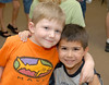 (5.17.2006)  The festivities associated with Connor's graduation from Tanque Verde Lutheran Pre-School.