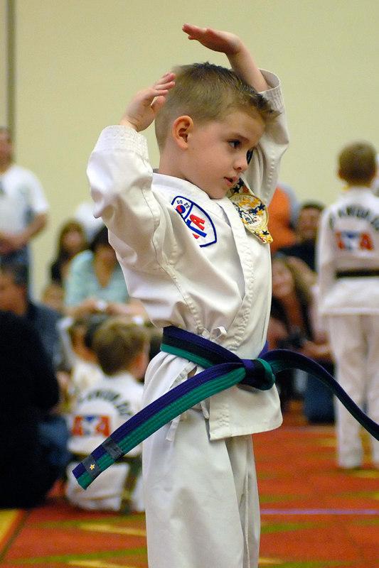 (4.1.2006 --- Tucson, Arizona)  Scenes from the ATA Taekwondo Tournament.