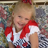This is Miss 4th of July...Victoria Lee Martin, age 4