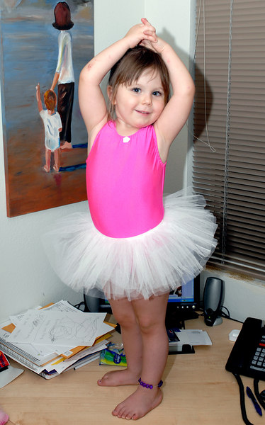 Our little Ballerina...