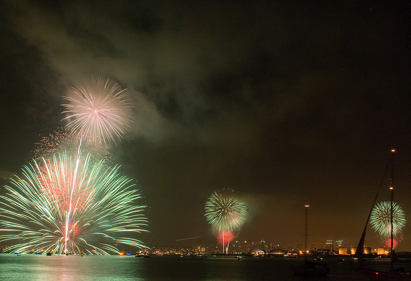Our 4th of July in San Diego.