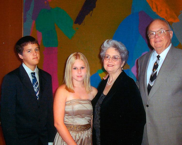Mom, Dad, Martina and Anthony Cruise 2006