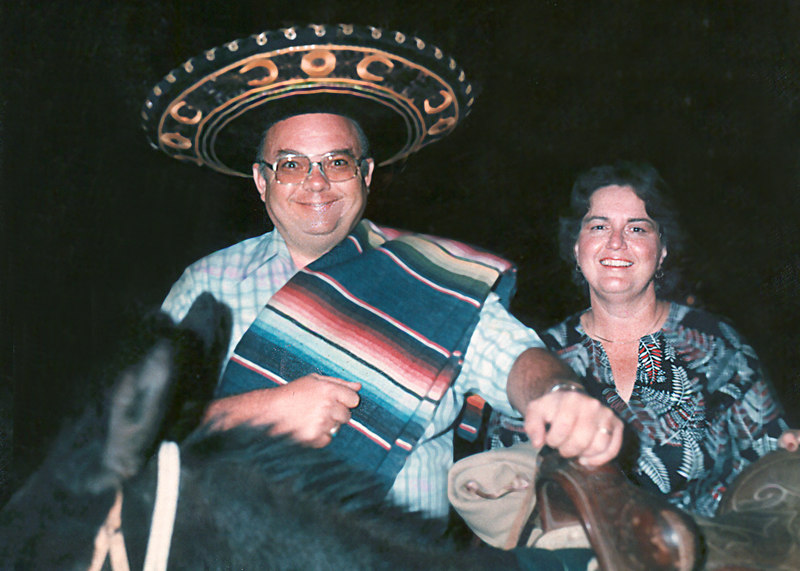 mom and dad burro