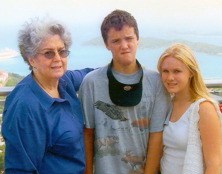 Mom, Martina and Anthony Cruise 2006