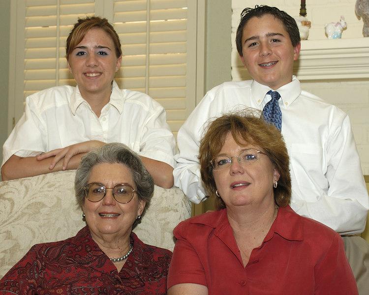 mom, eileen, britt and michaek
