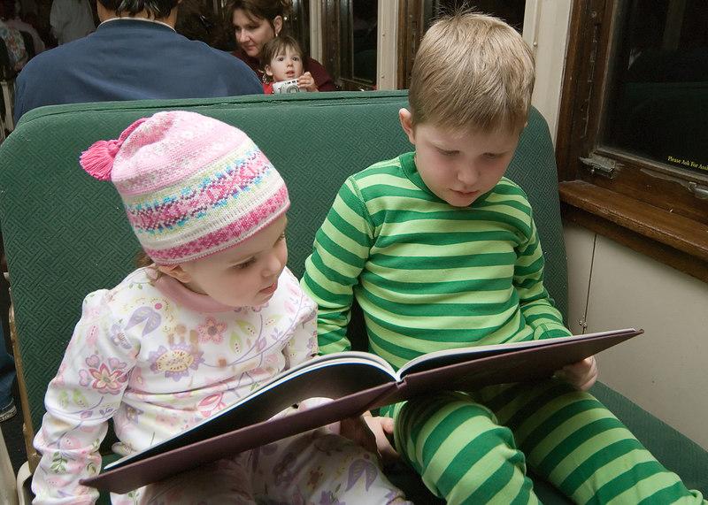12.10.2006 --- Our family trip to Williams, AZ to ride on the Polar Express (aka The Grand Canyon Railroad.)
