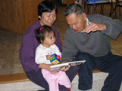 oct 20, 06 storytime with grandma and grandpa