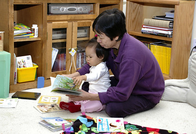 oct 20, 06 reading with grandma