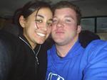 My Godchild Michelle and her boyfriend Jules