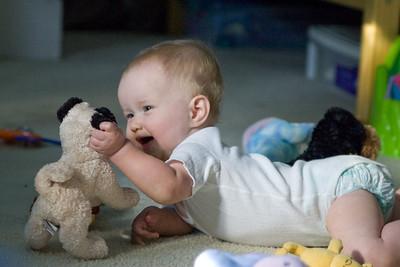 Beverly loves her stuffed nero
