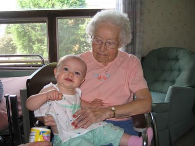 2007-07 Grandbaby & Family Visit