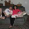 Jeffrey, Lora, Ashley - nearing bedtime