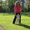 Mom and Ashley go for a walk