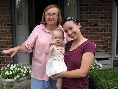 2007-09 Grandbaby Visits Us