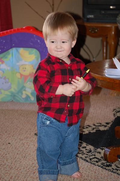 Josiah - nephew in Trenton Missouri by Jerri Lynn