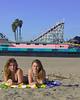 Santa Cruz Feb 17, 2007 Boardwalk girls 2