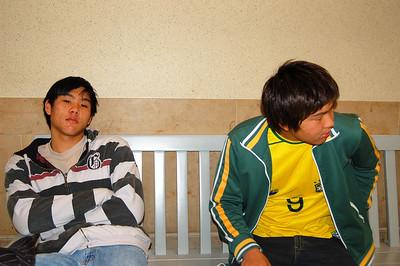 12/15/2007 - Pedro and Davi Arrived