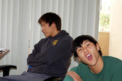 12/8/2007 - Nando Visit Leo's Apt
