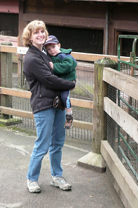 Gavin at the zoo