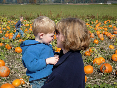 Gavin and Kathy Pumpkin Patch