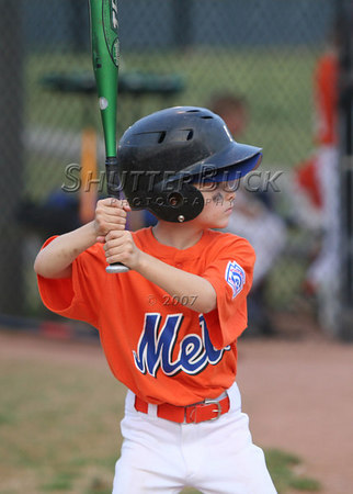 2007 PTCLL Junior Minor Mets