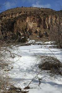 Cliffs at Bandelier