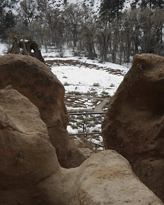 Ruiuns at Bandelier NM