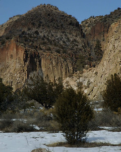 Cliffs at Bandelier NM