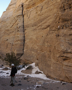 Kathy at Tent Rocks