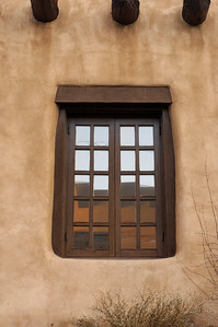 Santa Fe Museum of Art Window