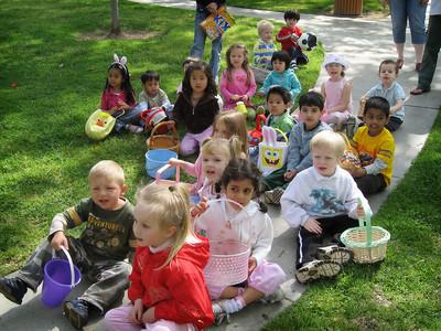 4/5 - Easter egg hunt at Lili's preschool