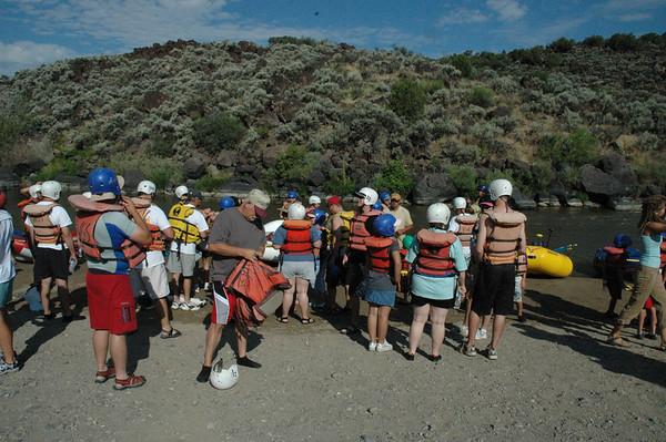 2007 Reunion Rafting