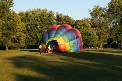 2007-09-16 balloon landing