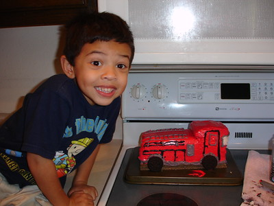 2007-10-10 Fire Engine Cake