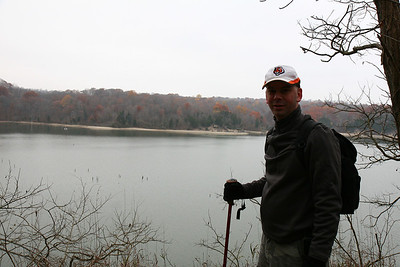 2007-11-18 Brookville hike