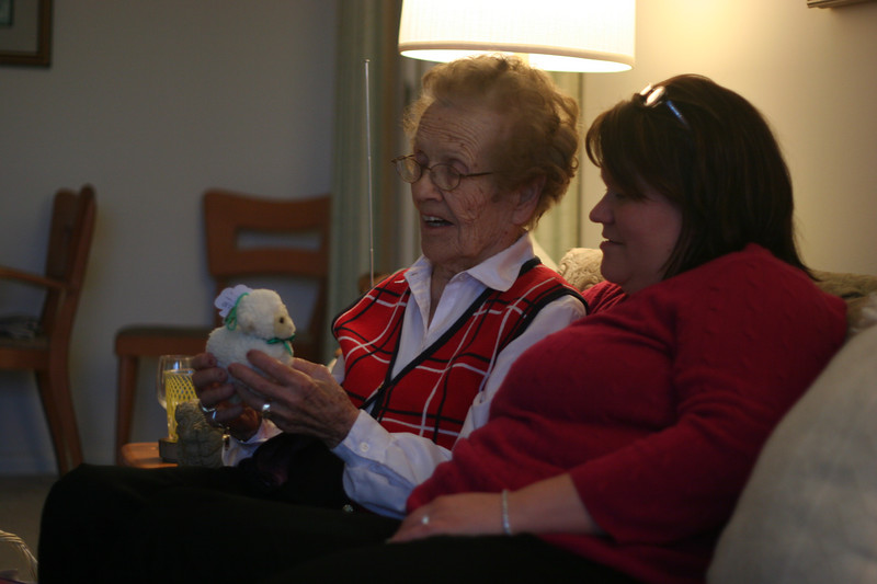 Grandma Cobb & Kris
