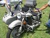 Ural bike and sidecar