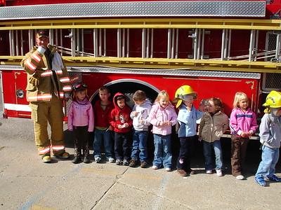 2007-10-11 AJ Pre-School Fire Department Visit