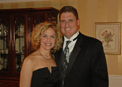 Brett & Jodi before Museum Gala