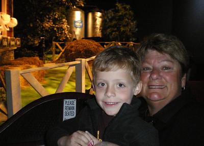 Brady and GiGi at Chocolate World