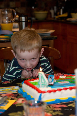 Ben's 4th Birthday