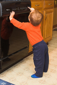 We're glad there is a child lock control on the dish washer console.