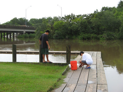 July 5, 2007 - Crabbing in Texas